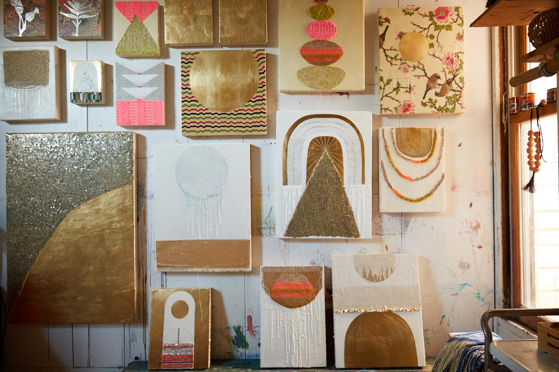Lisa Ostapinski studio.JPG