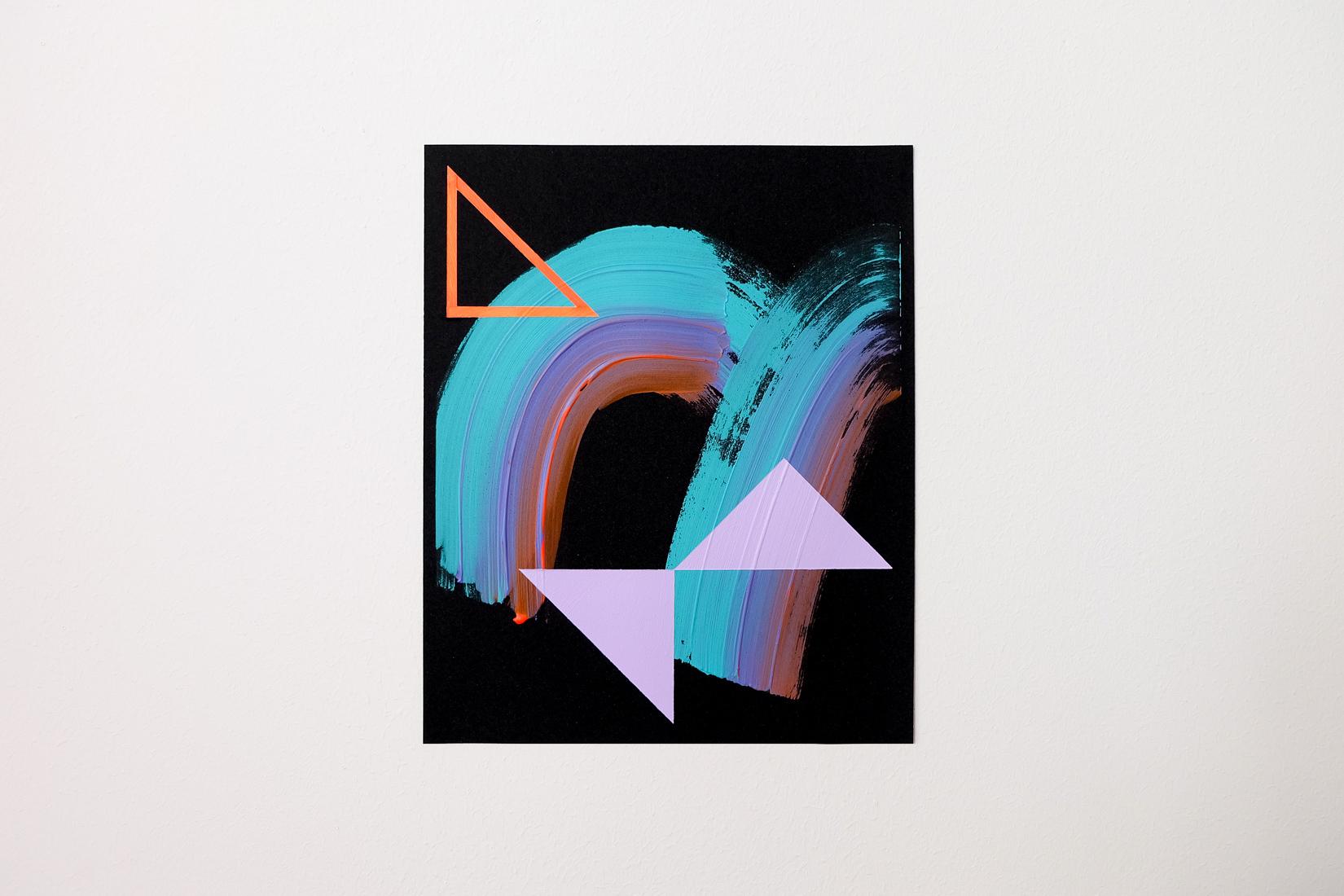 Lisa Denyer Horizon 2017 acrylic on sandpaper 28x23cm.jpg