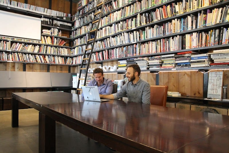 Justin and John, co-founders of Artwork Archives