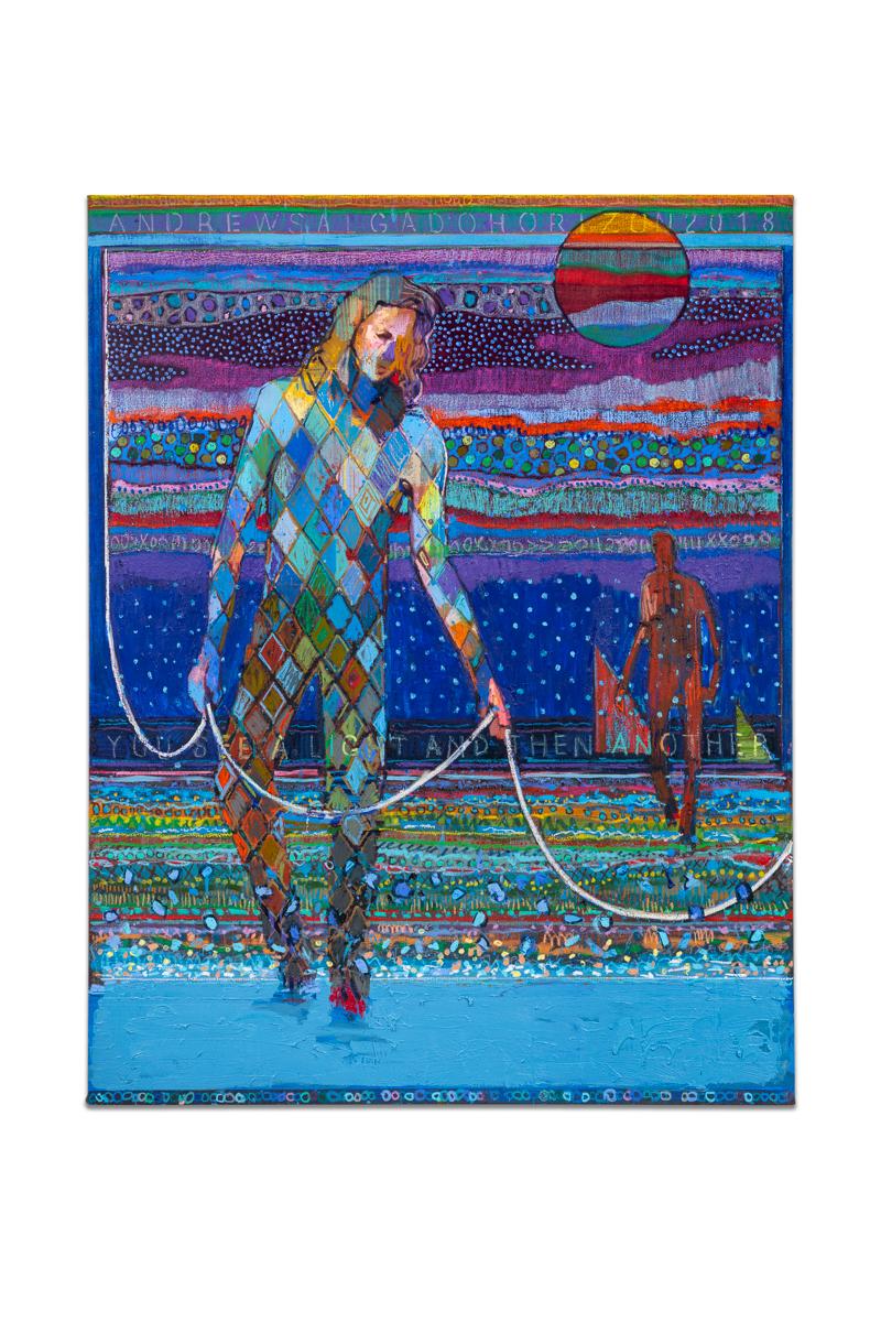 Andrew Salgado, Horizon (For Gord Downie) (2018), Oil and Oil Pastel on Linen, 200x155cm LR.jpg