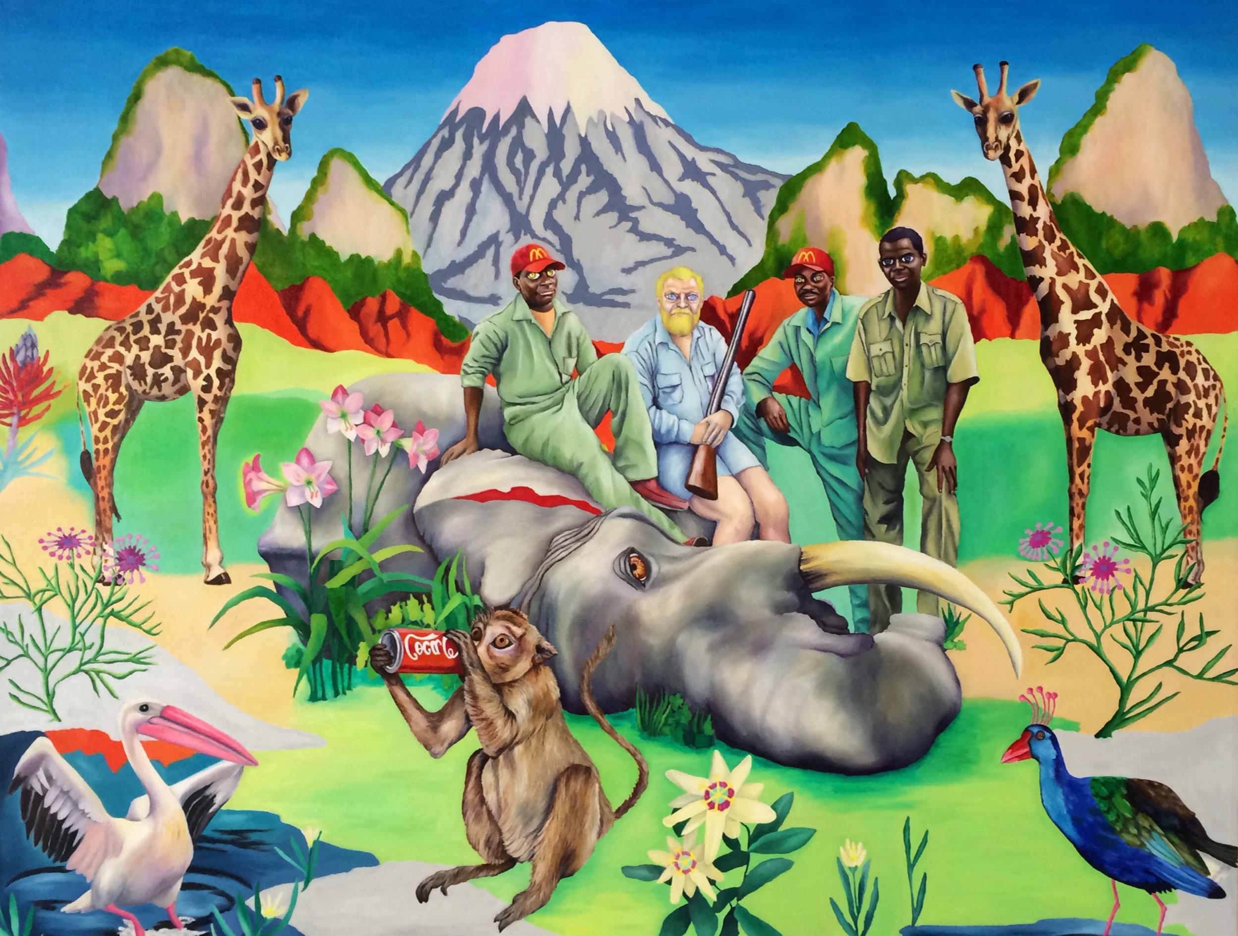 Hunting at KilimanjaroZsanet Jeck.jpg