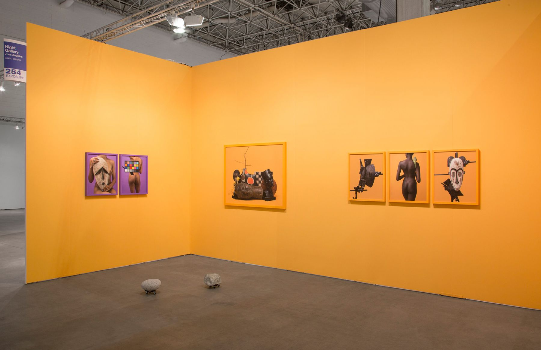 Installation view of Night Gallery booth at EXPO Chicago, 2018. Image courtesy of Night Gallery.