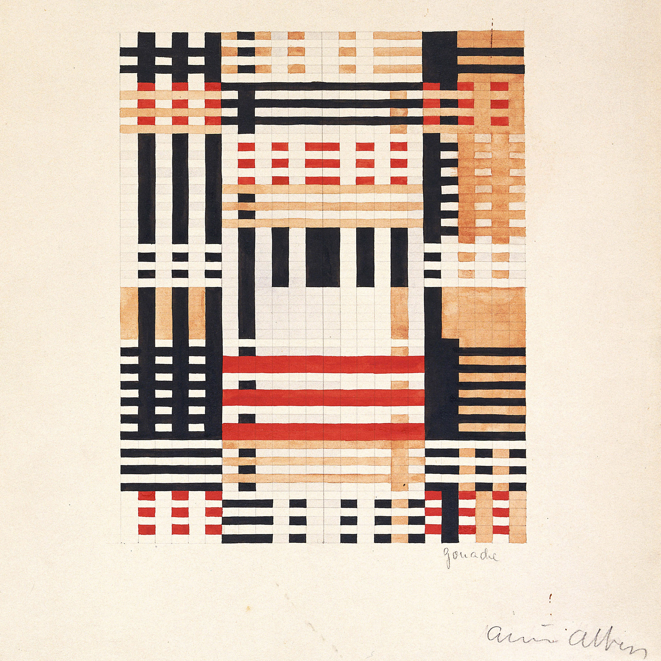 Image courtesy of the Josef and Anni Albers Foundation/Artists Rights Society (ARS), New York/DACS, London