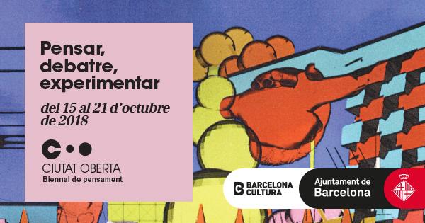 """QUÈ ÉS LA BIENNAL DE PENSAMENT - CIUTAT OBERTA?   Les ciutats constitueixen els principals escenaris de les múltiples transformacions que marquen el nostre canvi d'època. #CiutatOberta  La Biennal de Pensament """"Ciutat oberta"""" és un cicle de debats, performances, concerts i xerrades que neix de la mà de Barcelona Cultura aquest 2018 amb la intenció de connectar el debat sobre el paper de les ciutats d'avui amb els grans reptes de la societat contemporània.   L'objectiu de la Biennal és obrir el debat sobre les ciutats que volem i necessitem, amb mirades plurals i la participació de tothom. Una setmana de reflexions, preguntes i experiències. Una festa de les idees."""