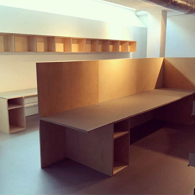 Contemporary Arts Society. #plywood #plywoodfurniture #design #bespoke #craft #officedecor #london #carpentry #forbo