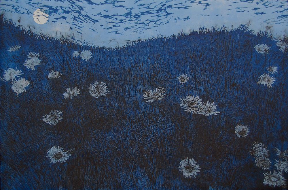 Sea Ranch Flowers (Blue)