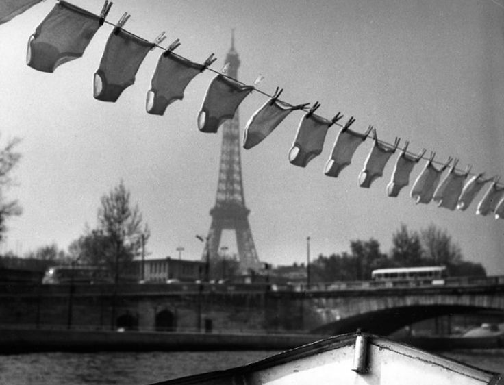 Robert Doisneau -  The Washing of Petty, 1961
