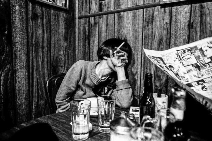 Ken Schles -  Melanie at Veselka, 1986