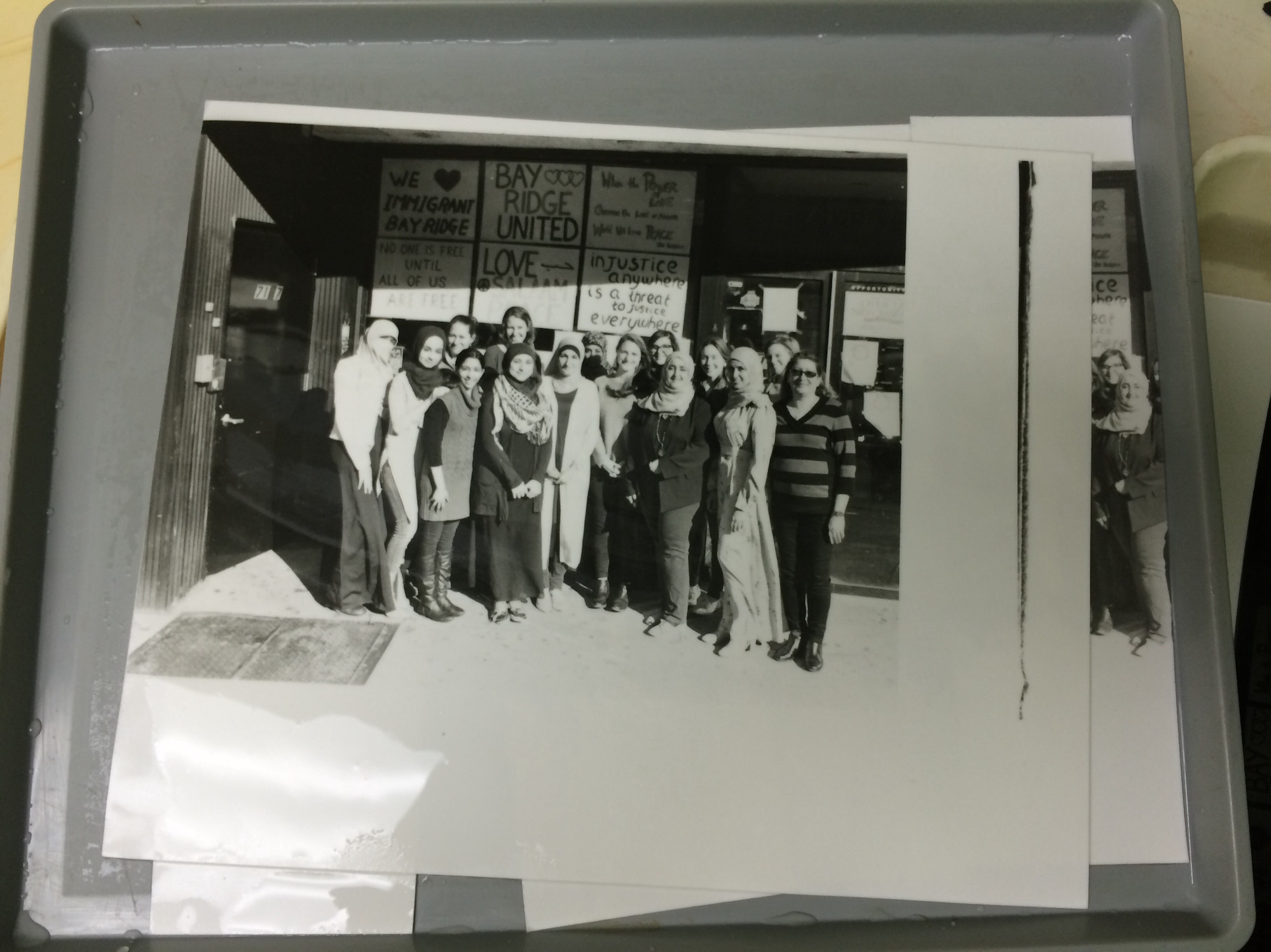 Darkroom: Getting closer. The girl on the far left needs to be burned in. Her shirt is pure white, making the photo very unbalanced