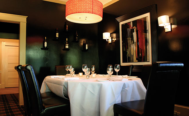 photo of the towne room, private dining room