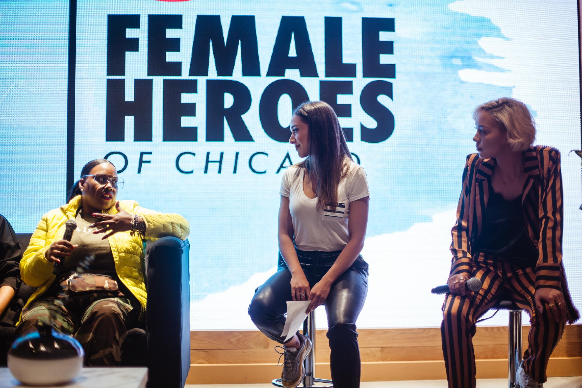 LIVE: Female Heroes -