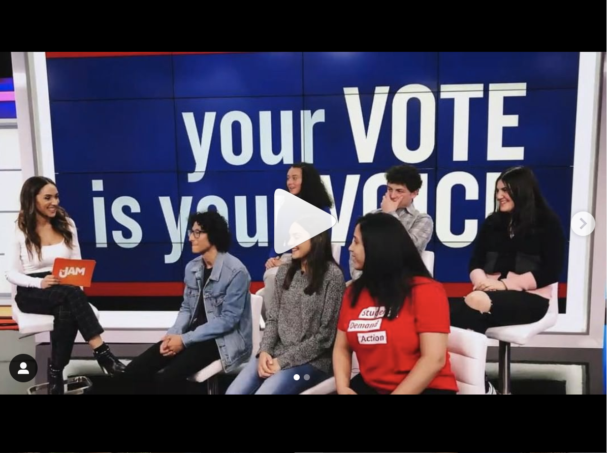 18 in '18 - Danielle talks to teens truning 18 in 2018 about Gun Control