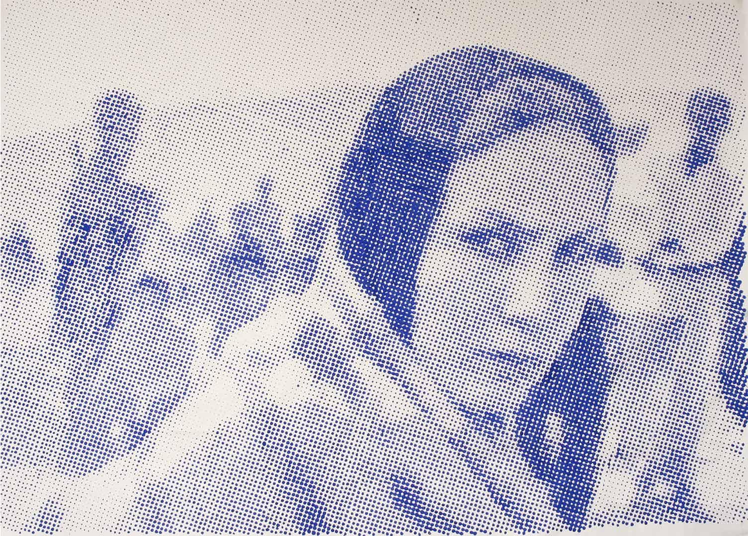Migrant woman portrait