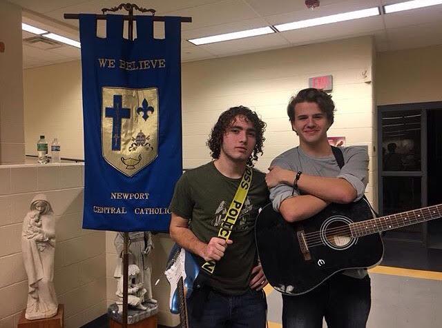 Seniors - Jonathan Rust and Kevin Drohan