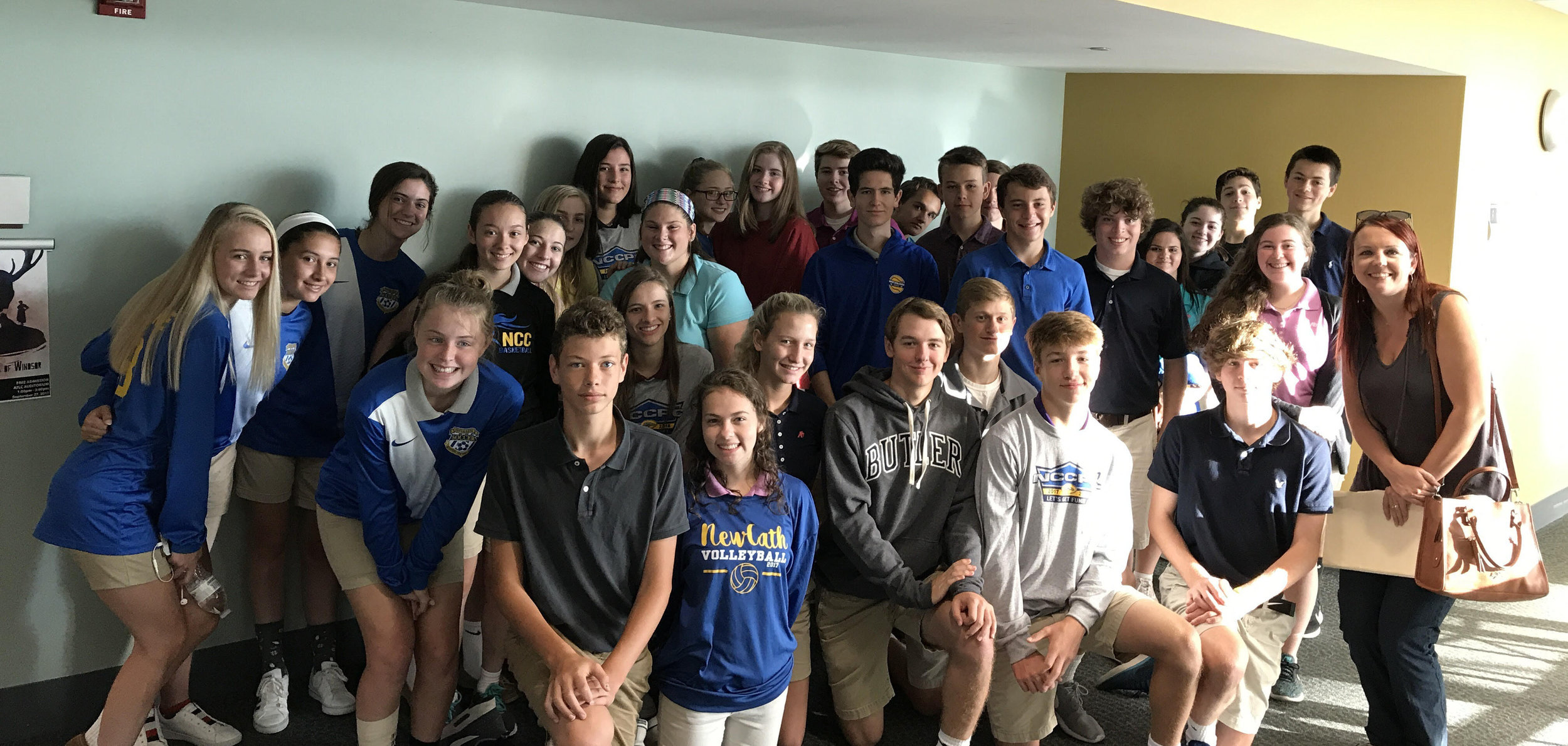 NCC English Honors Class attend field trip at Cincinnati State.