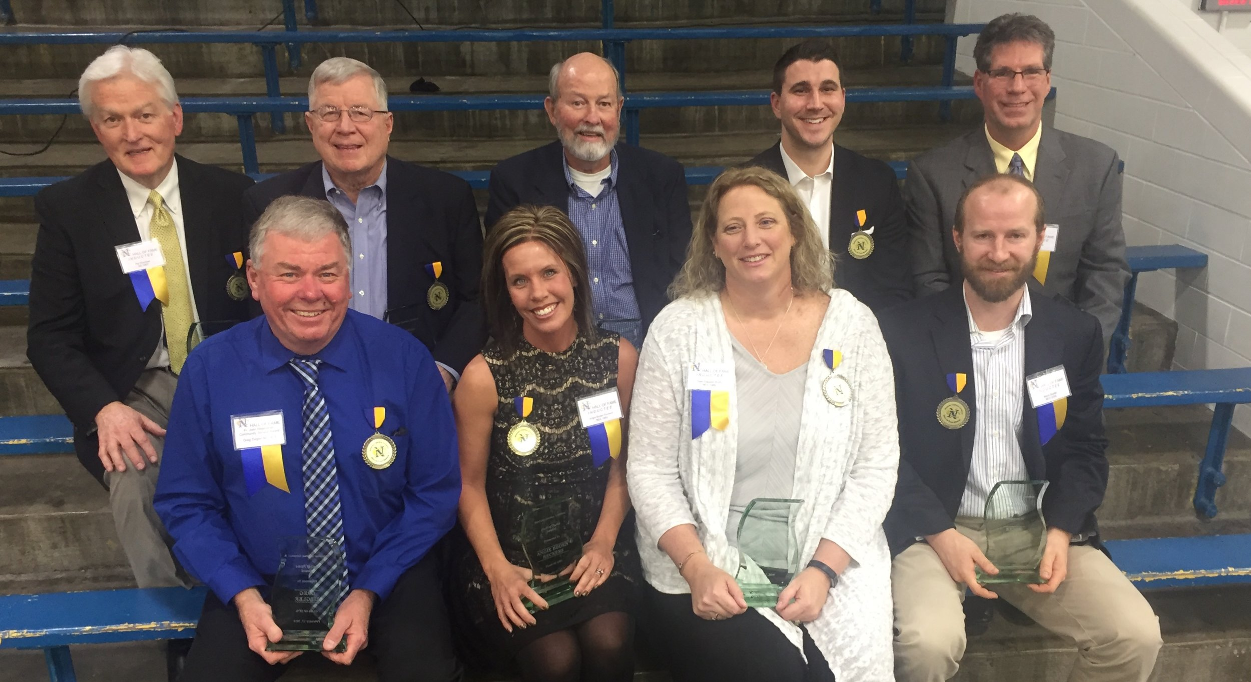 NCC 18th Class of Athletic Hall of Fame Inductees