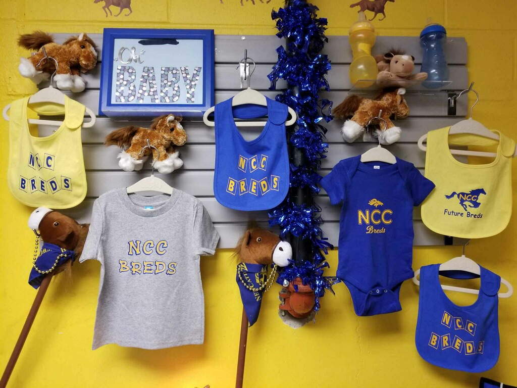a variety of gifts for future Thoroughbreds....
