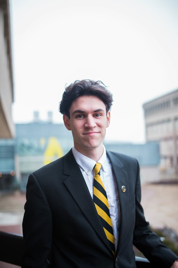 NKU Junior Matt Frey a 2015 graduate of NCC is serving the student body as Vice President.