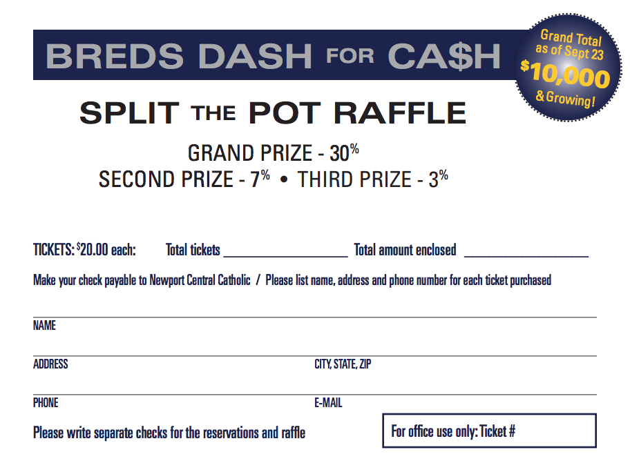 Be sure your name is in the pot. Winners to be drawn on November 3 at the Winners' Circle Event.