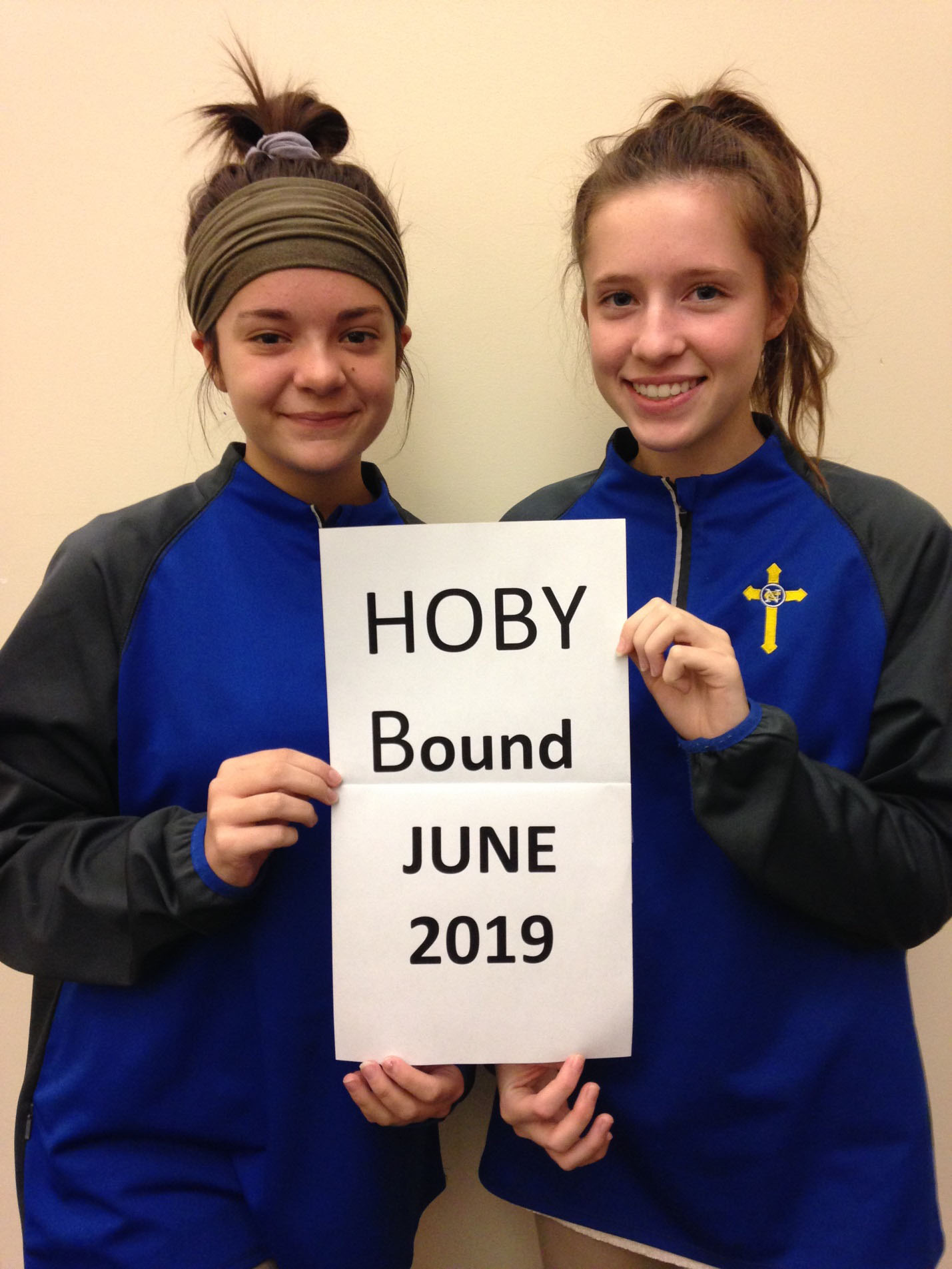 Congratulations to Sophomores Chloe Hicks and Abby Jones who were selected to represent NCC at this year's Hugh O'Brian Youth Leadership (HOBY) seminar.