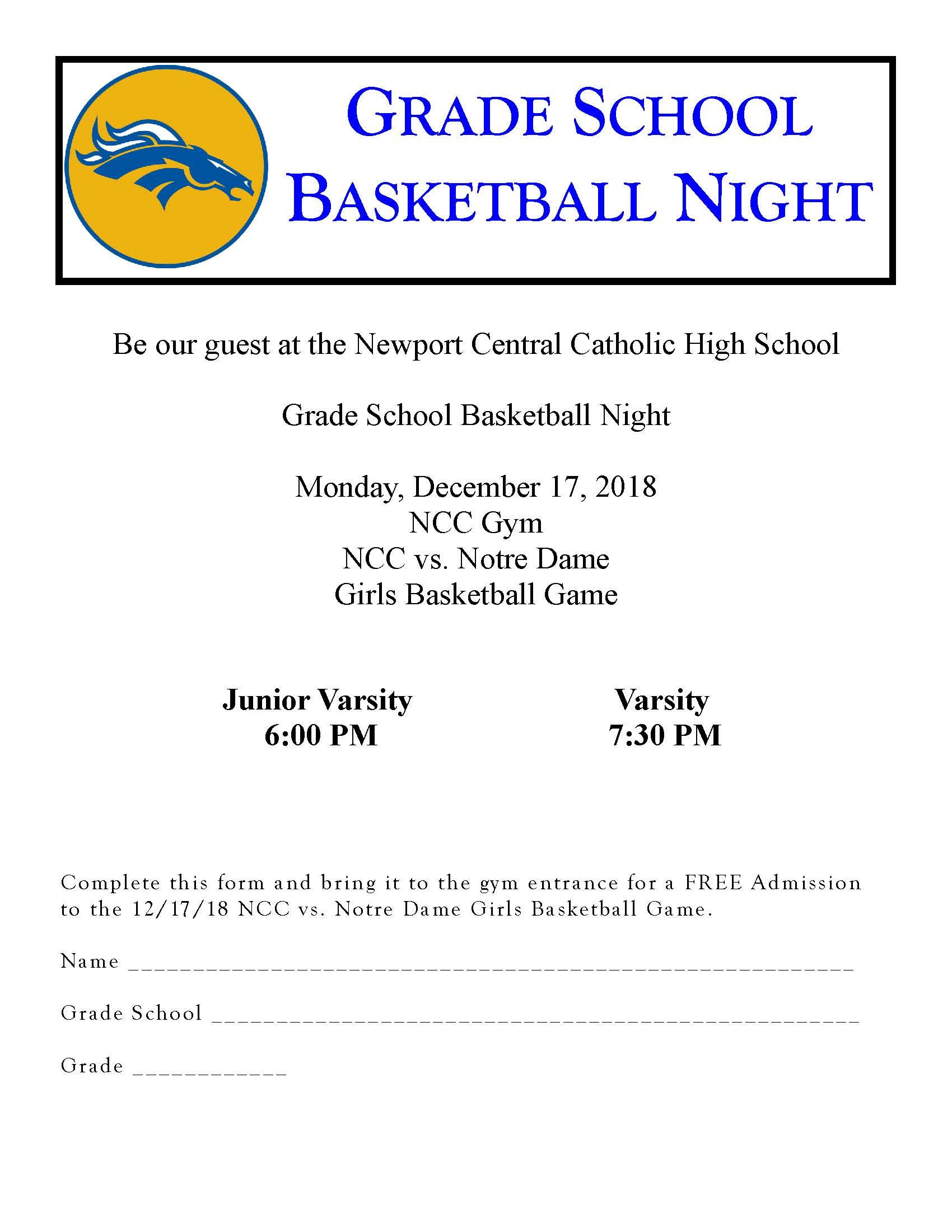 Grade school Girls Baskerball Night Dec. 17, 2018.jpg