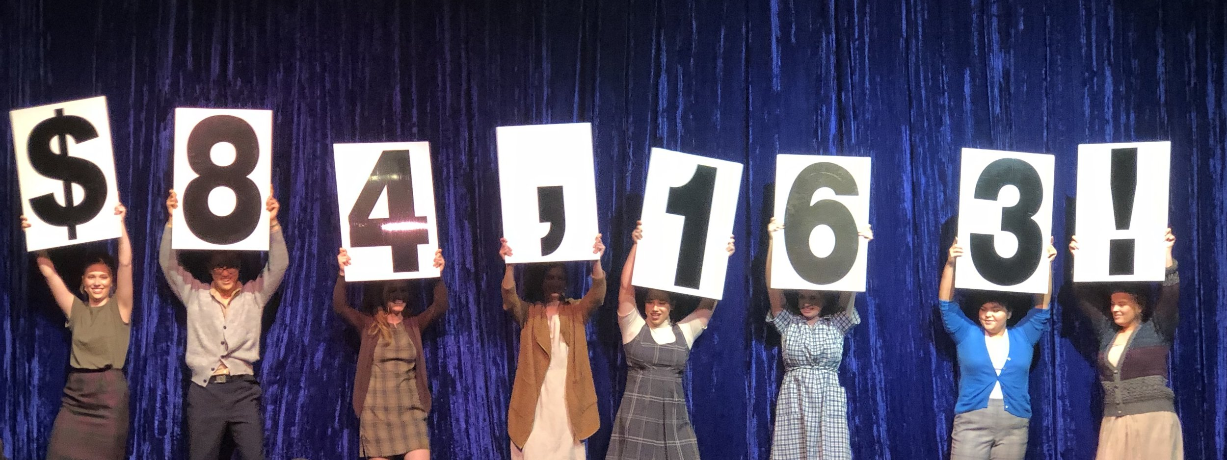 The number raised at Gala.jpg