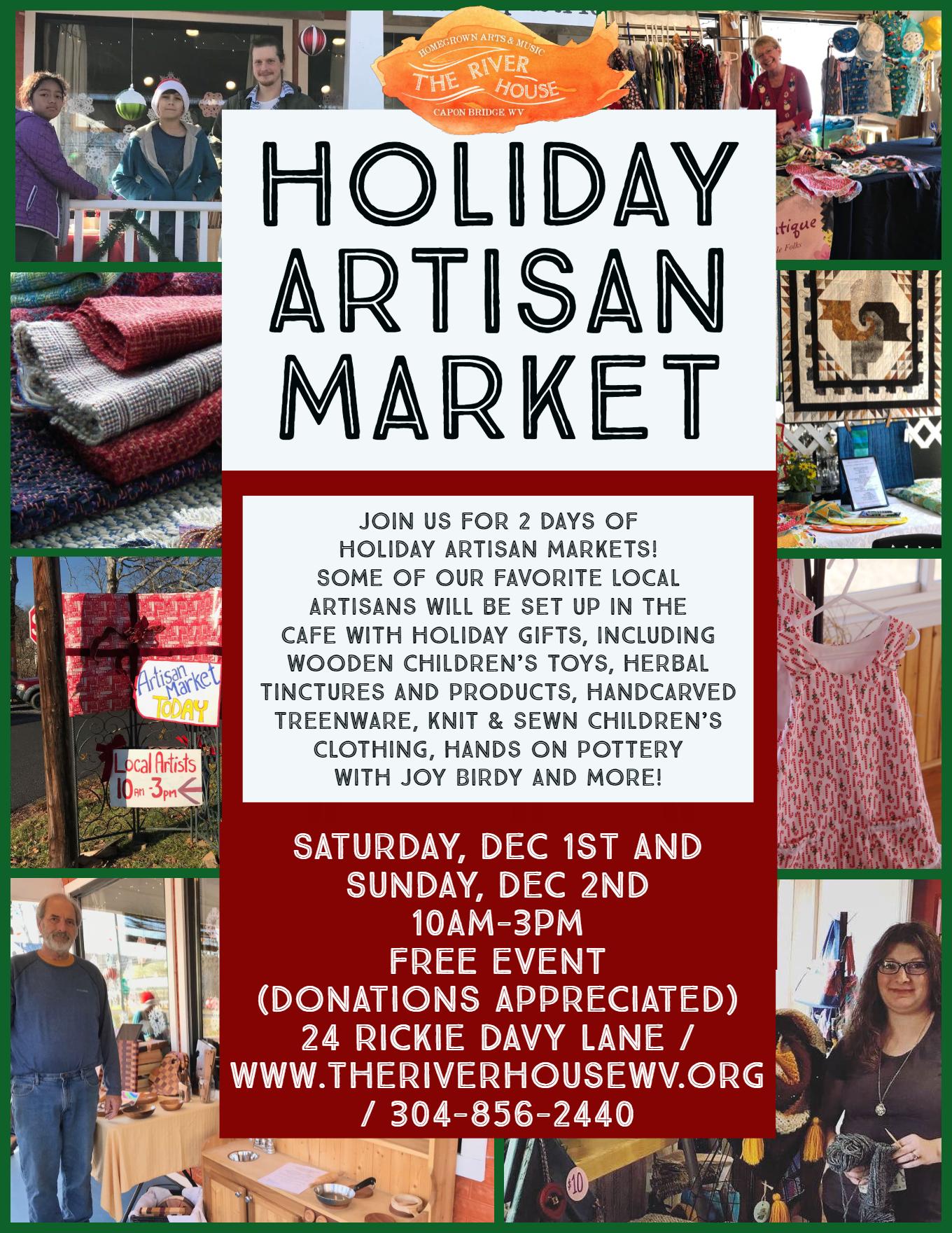 Holiday Artisan Market Flyer 2 days.jpg