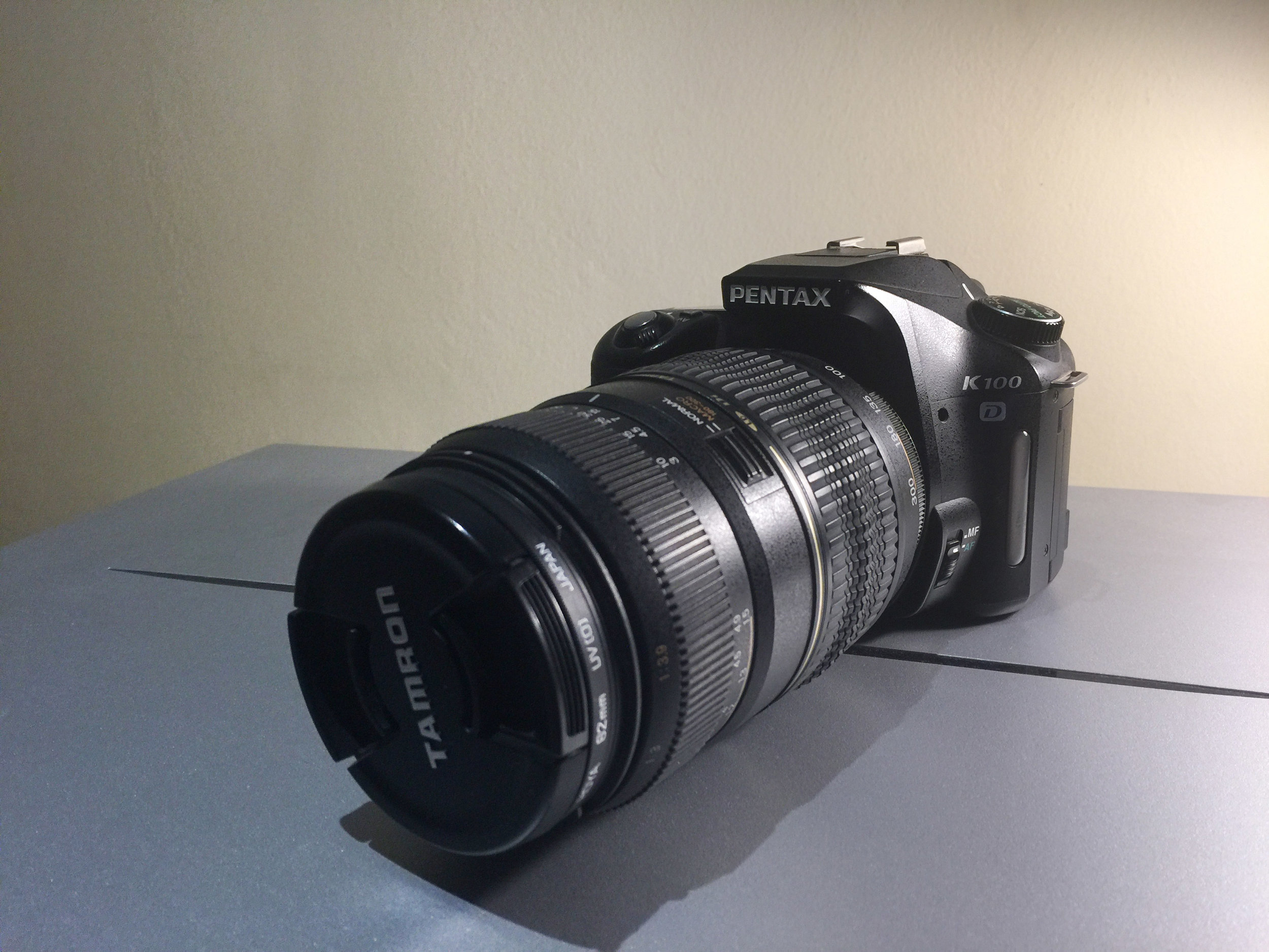 My venerable Pentax a great camera in 2006 and still great today - I use it wherever there is risk of theft or damage. This camera sells for R450 second-hand
