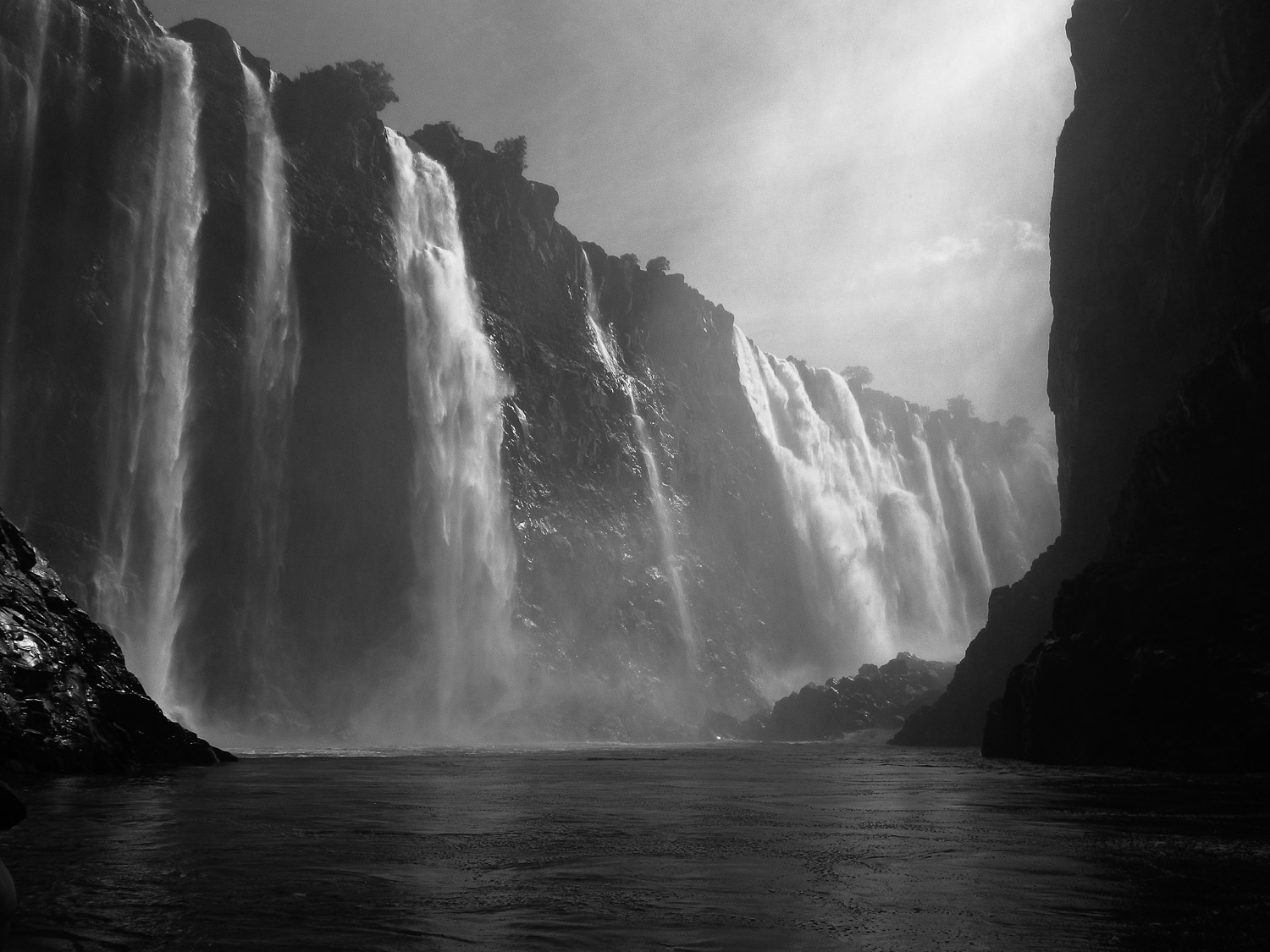 Vic Falls, Pentax Optio point and shoot