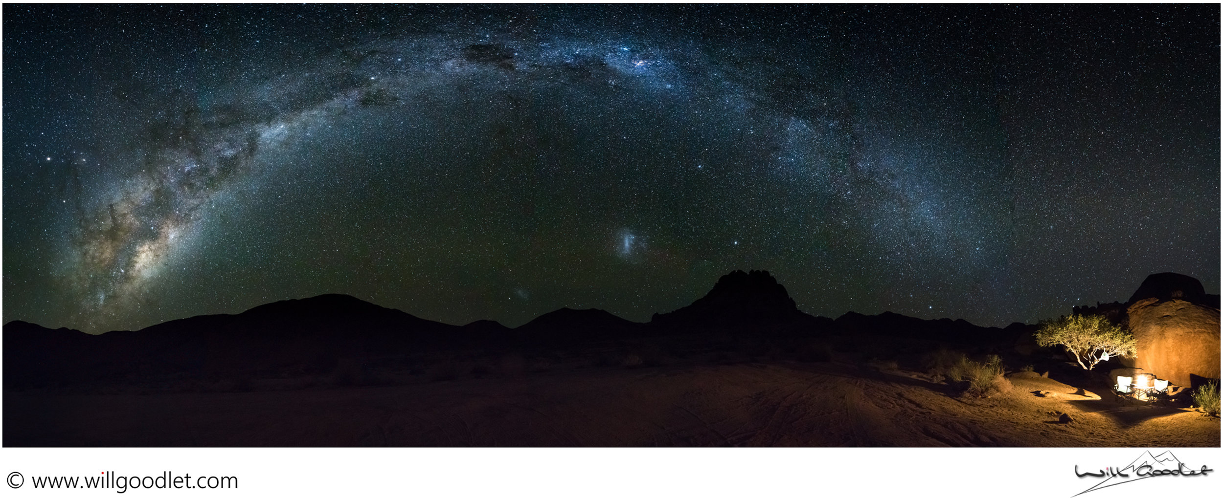 3 rows of 7 images (21 image stitched Panorama) Richtersveld, South Africa.