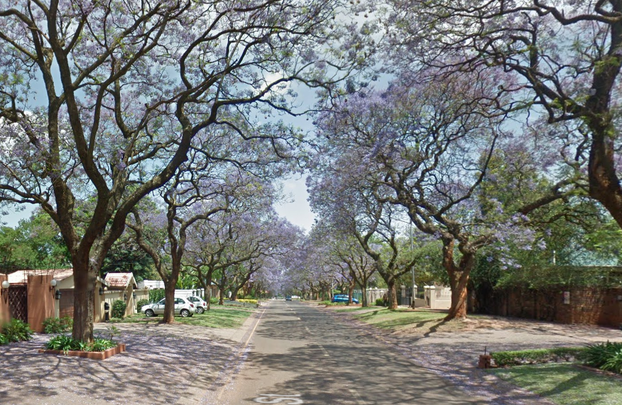 The Google guys have even been helpful enough to include flowering Jacarandas in this shot – perfect for Location Research!