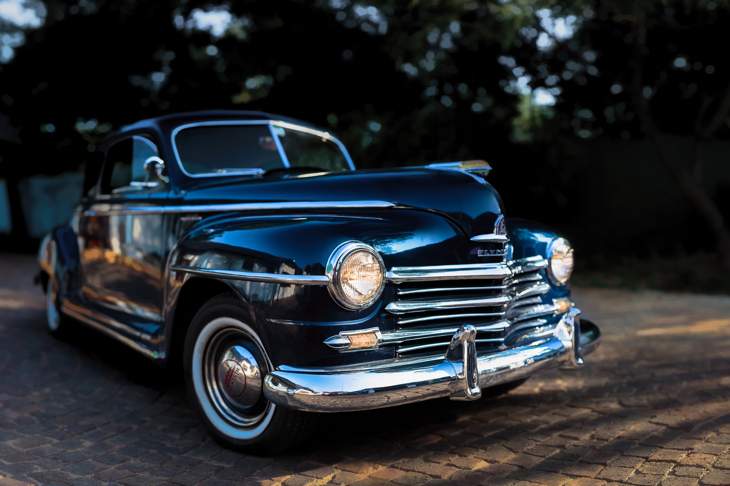 1948 Plymouth Panorama (6 shots in 2 Rows)