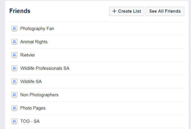 Facebook Friends Hack - Creating Segmented Friend Lists.