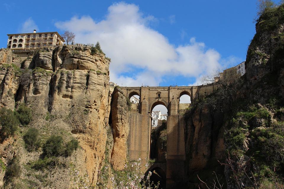 Ronda Bridge, Spain.