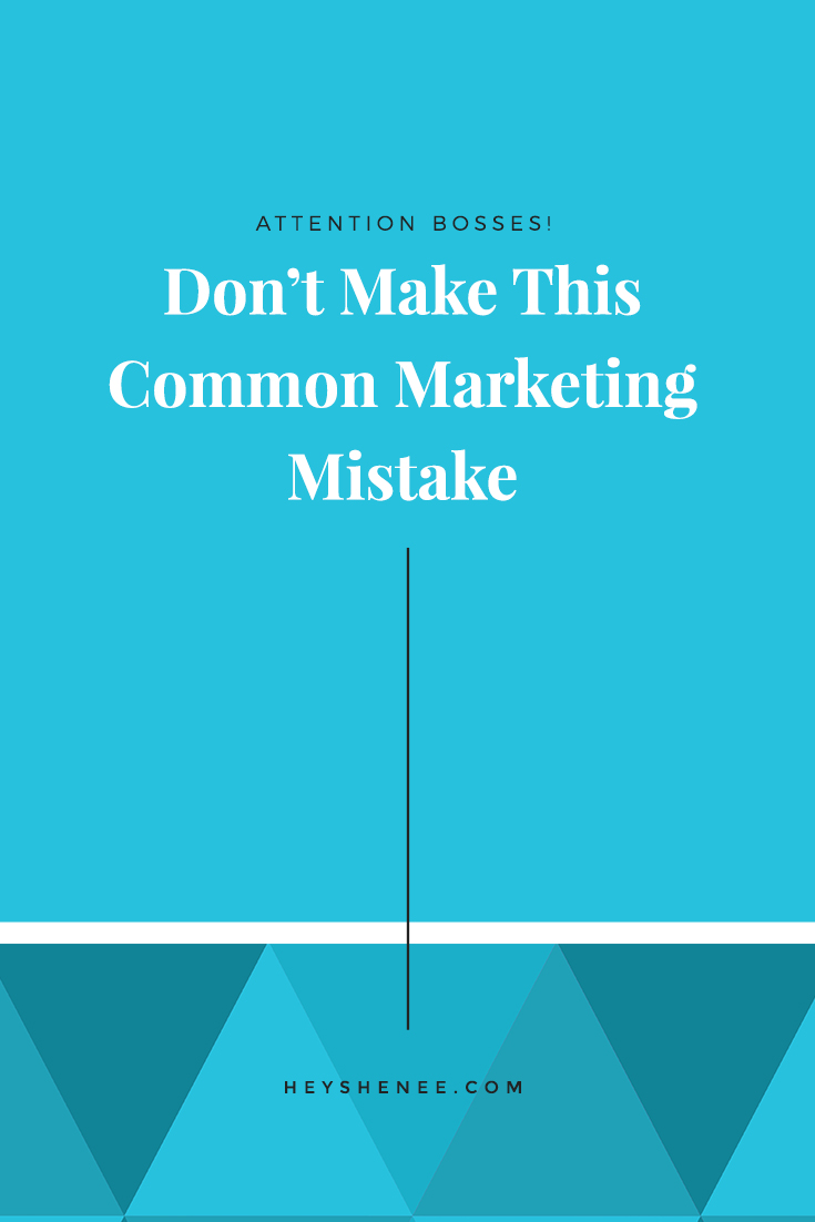 Don't Make This Mistake