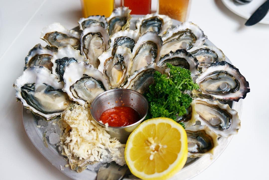 Raw Fanny Bay Oyster