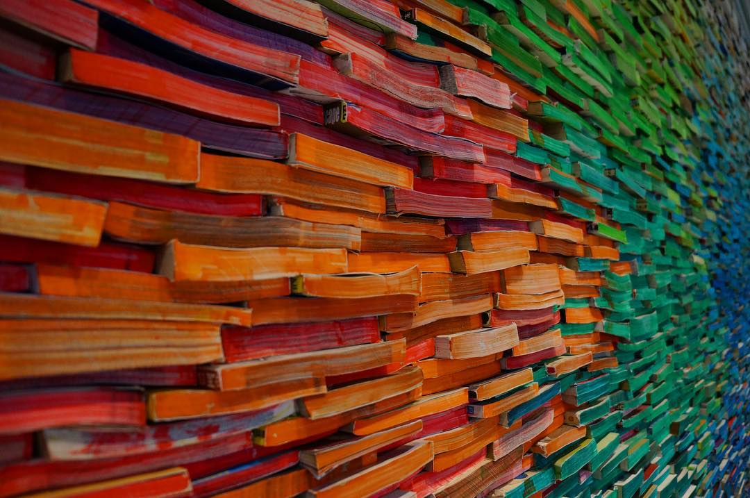 Great Wall of Books, Nantong Public Library