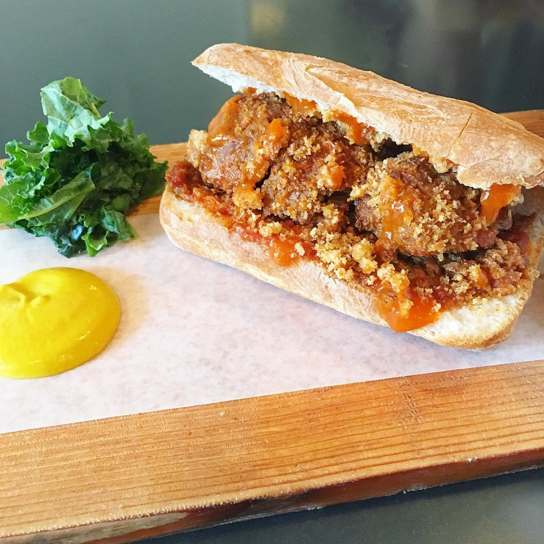 Meatball Sandwich (Customized to be closer to the old one)