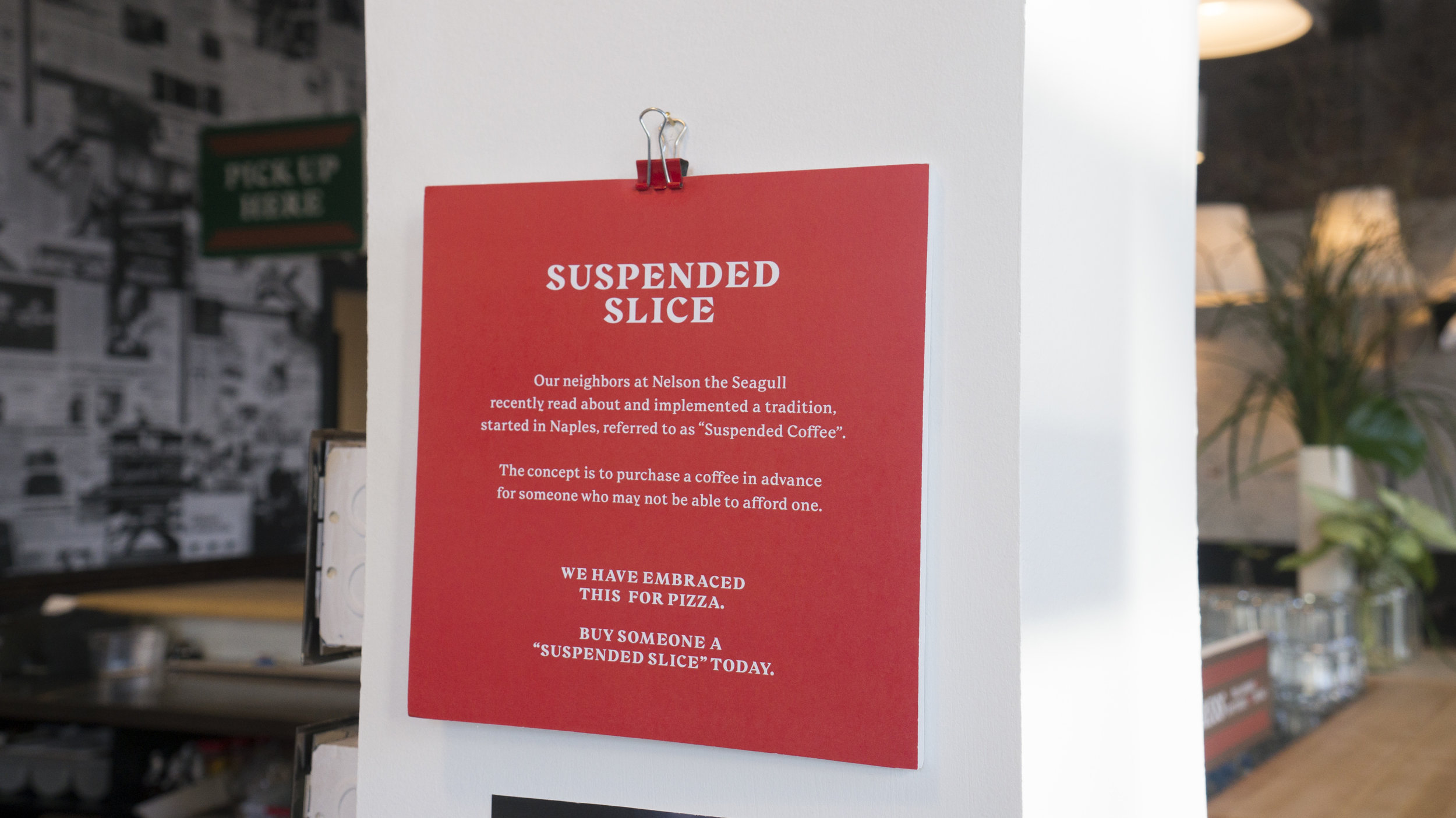 Suspended Slice!