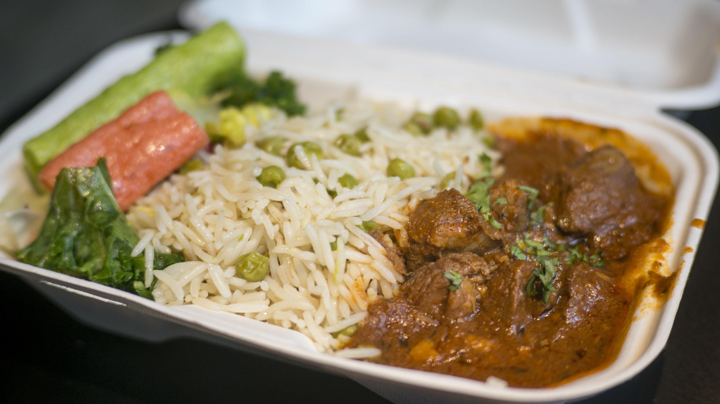 Lamb Curry | $12