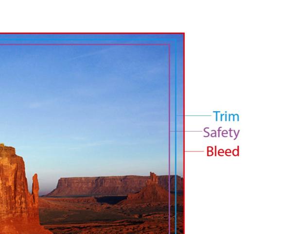 trim safety bleed