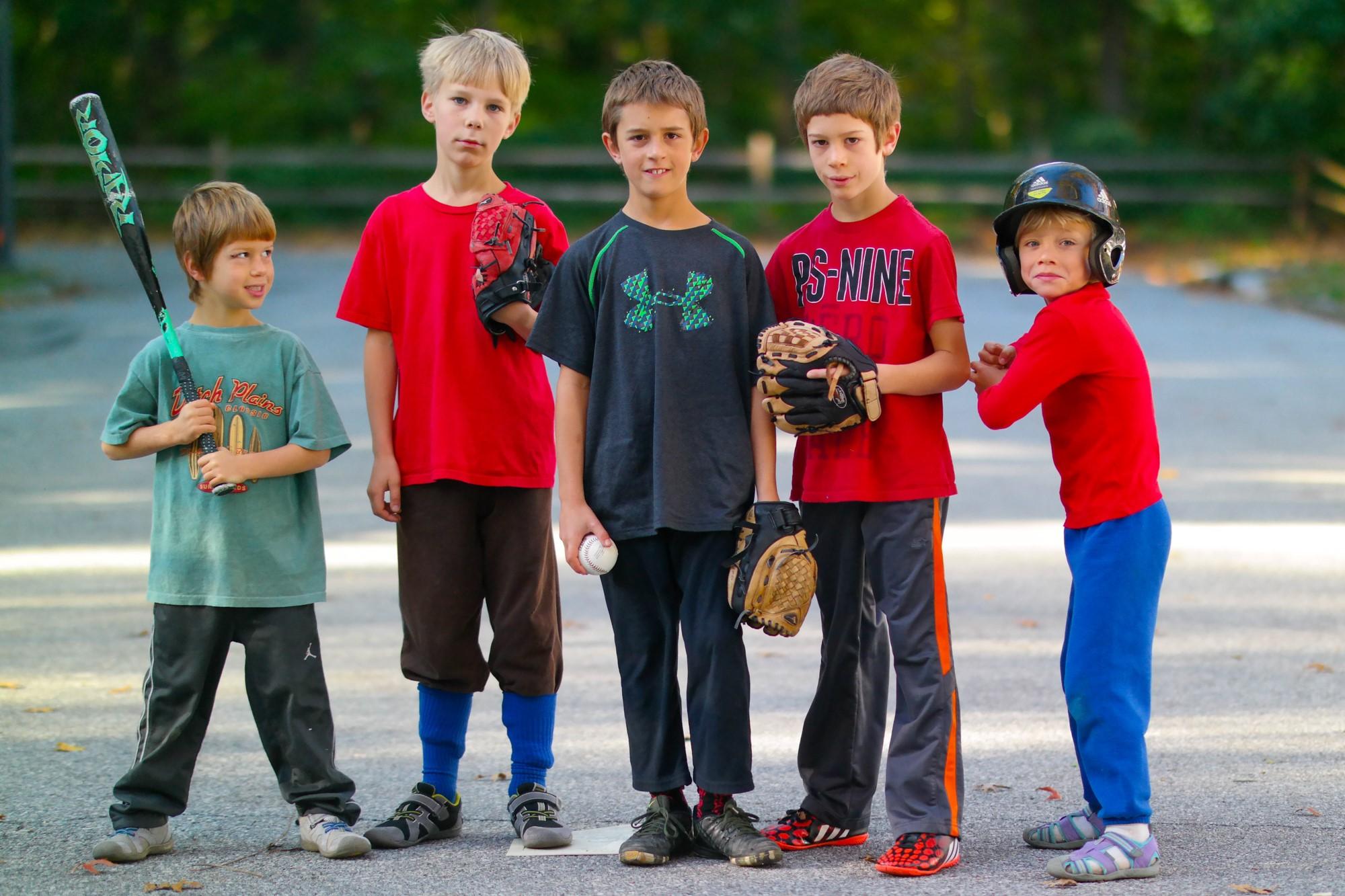 Baseball players taken with my DSLR camera.