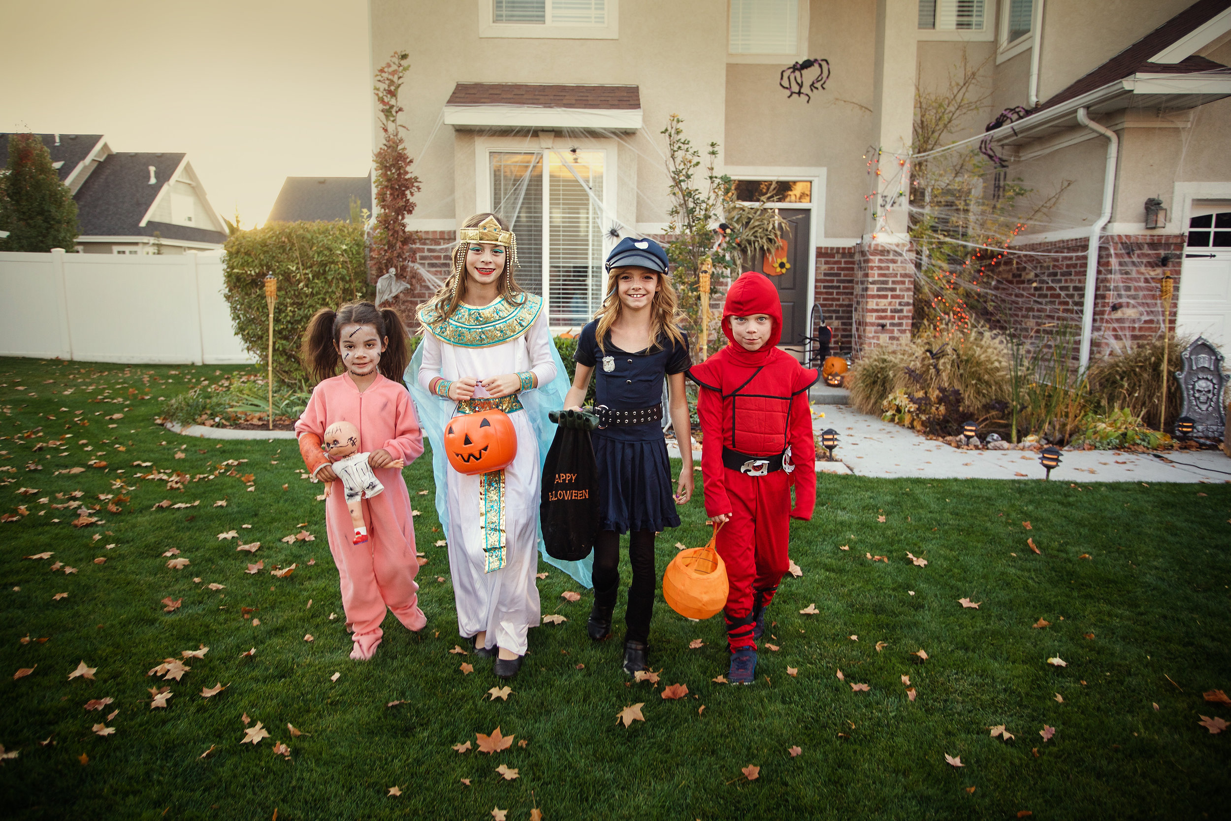 Kids out front of House.jpg