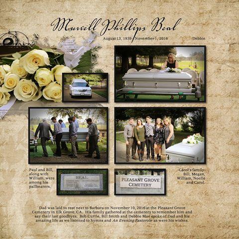 Murrell Phillips Beal | Aug 13, 1939 - Nov 1, 2016