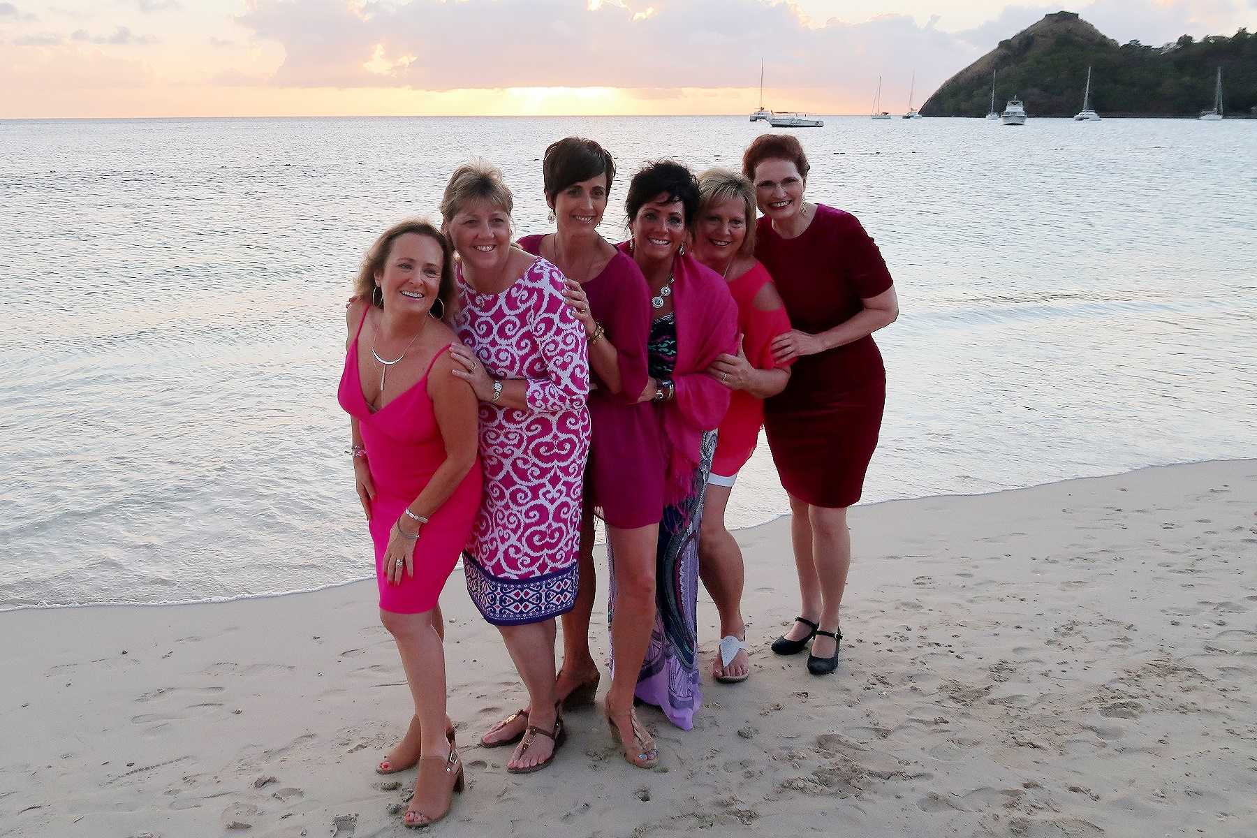 Marianna (far left) and other Senior Executive Ambassadors during our 2019 Ambassador Achievement Trip to St. Lucia.