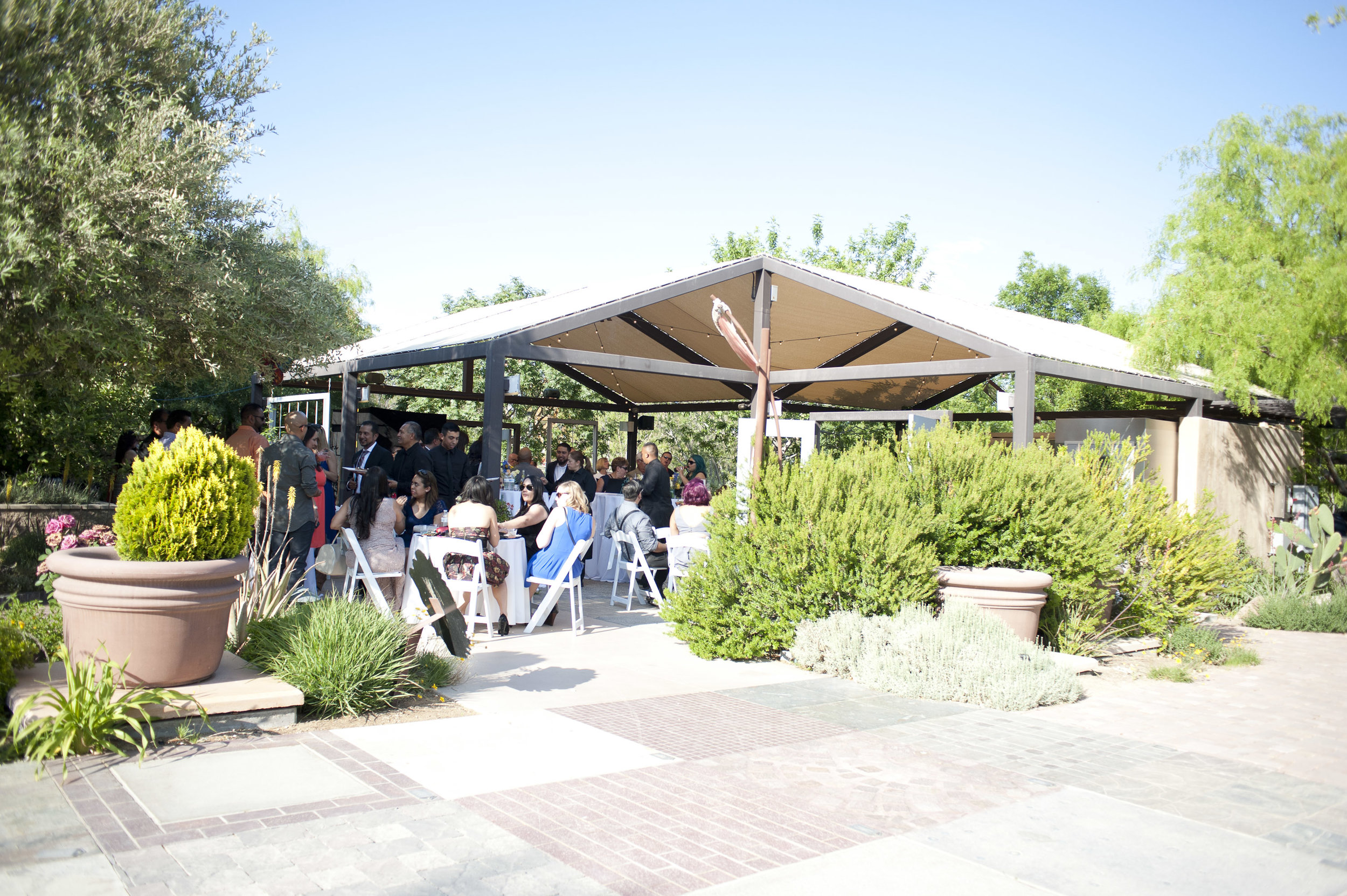 Wedding Planner:  Faithfully Yours Weddings & Events  | Venue:  Springs Preserve