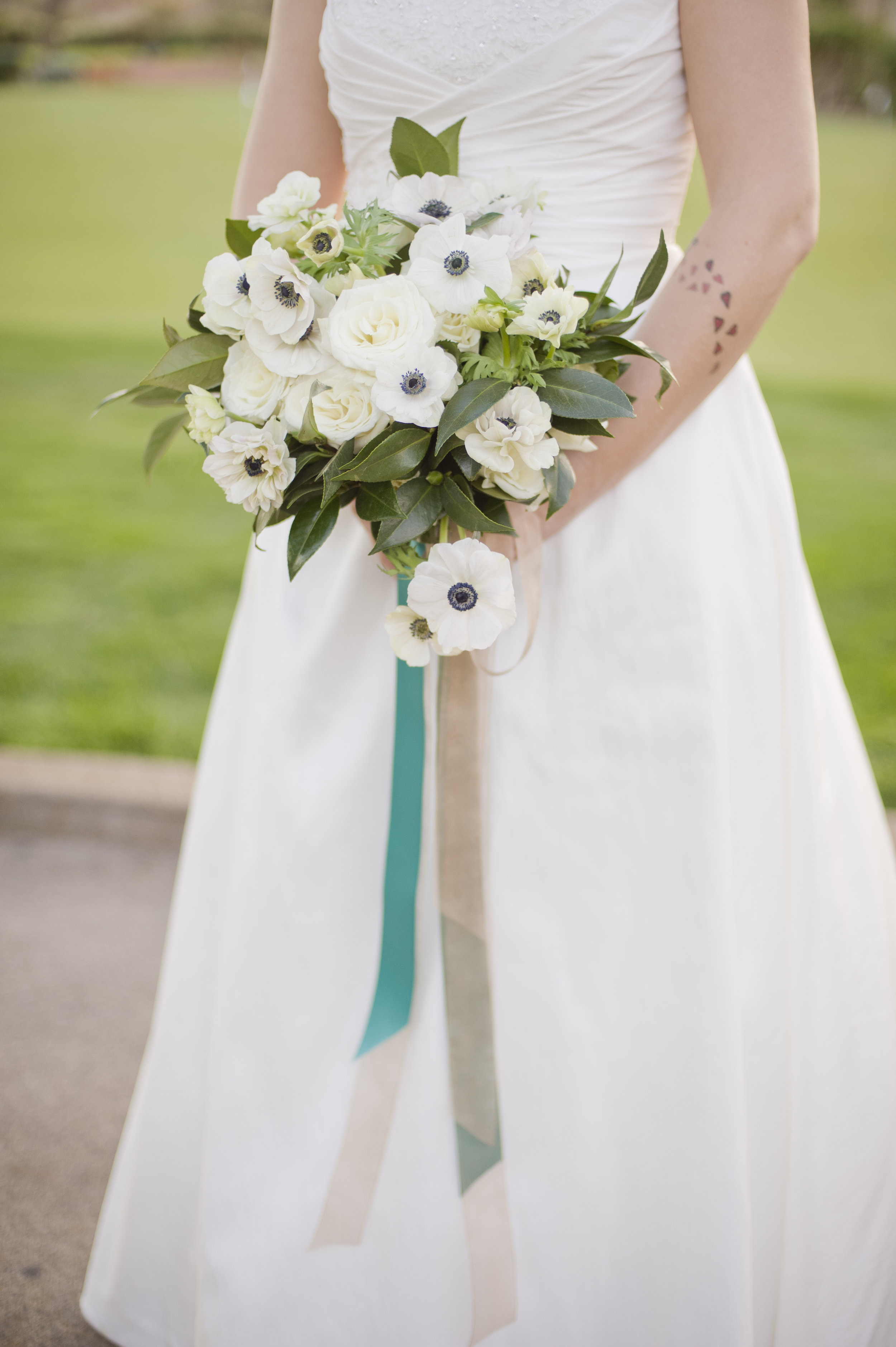 Bridal bouquet by:  Layers of Lovely