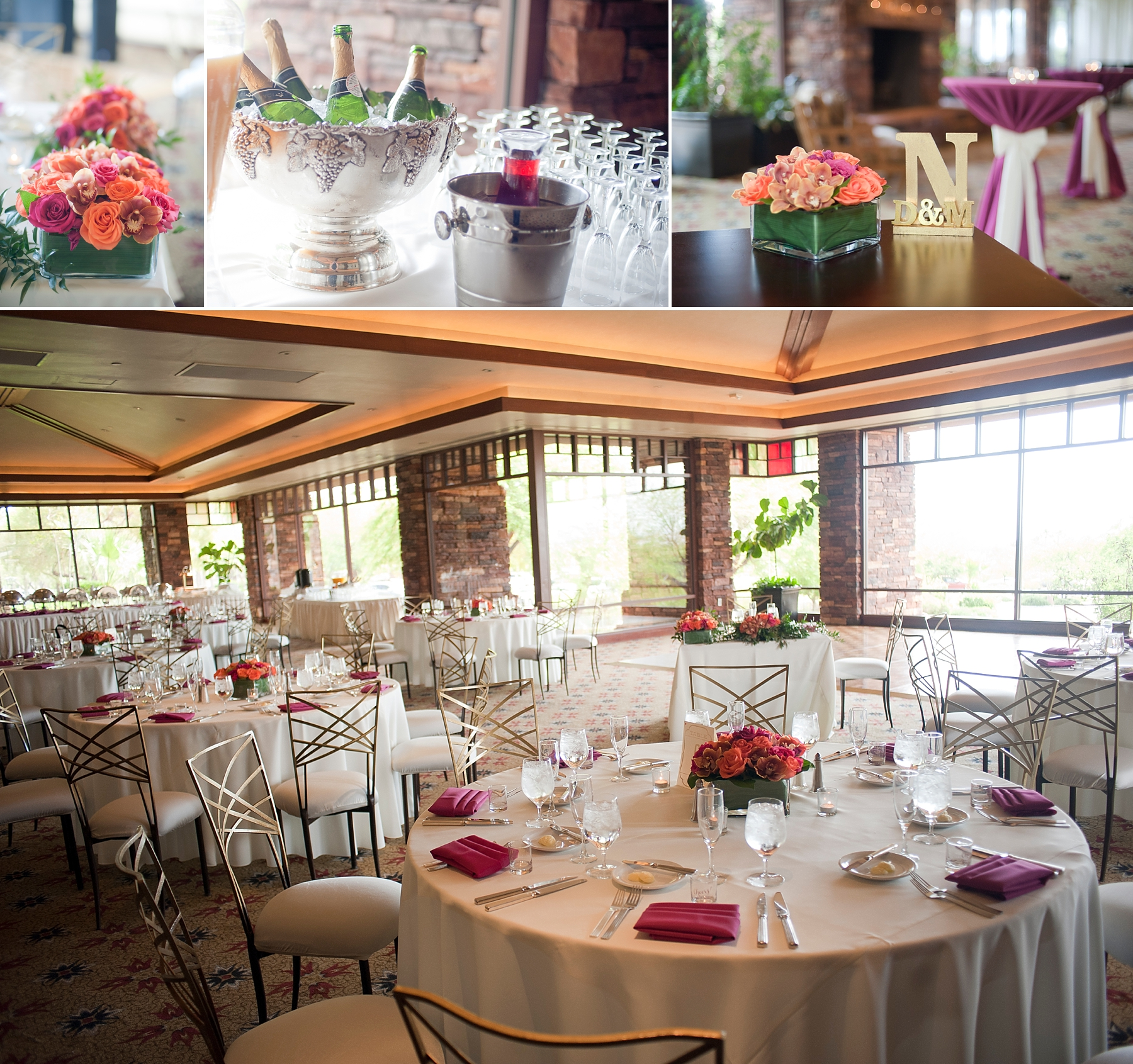 Venue:  Red Rock Country Club  | Florals:  Enchanted Florist