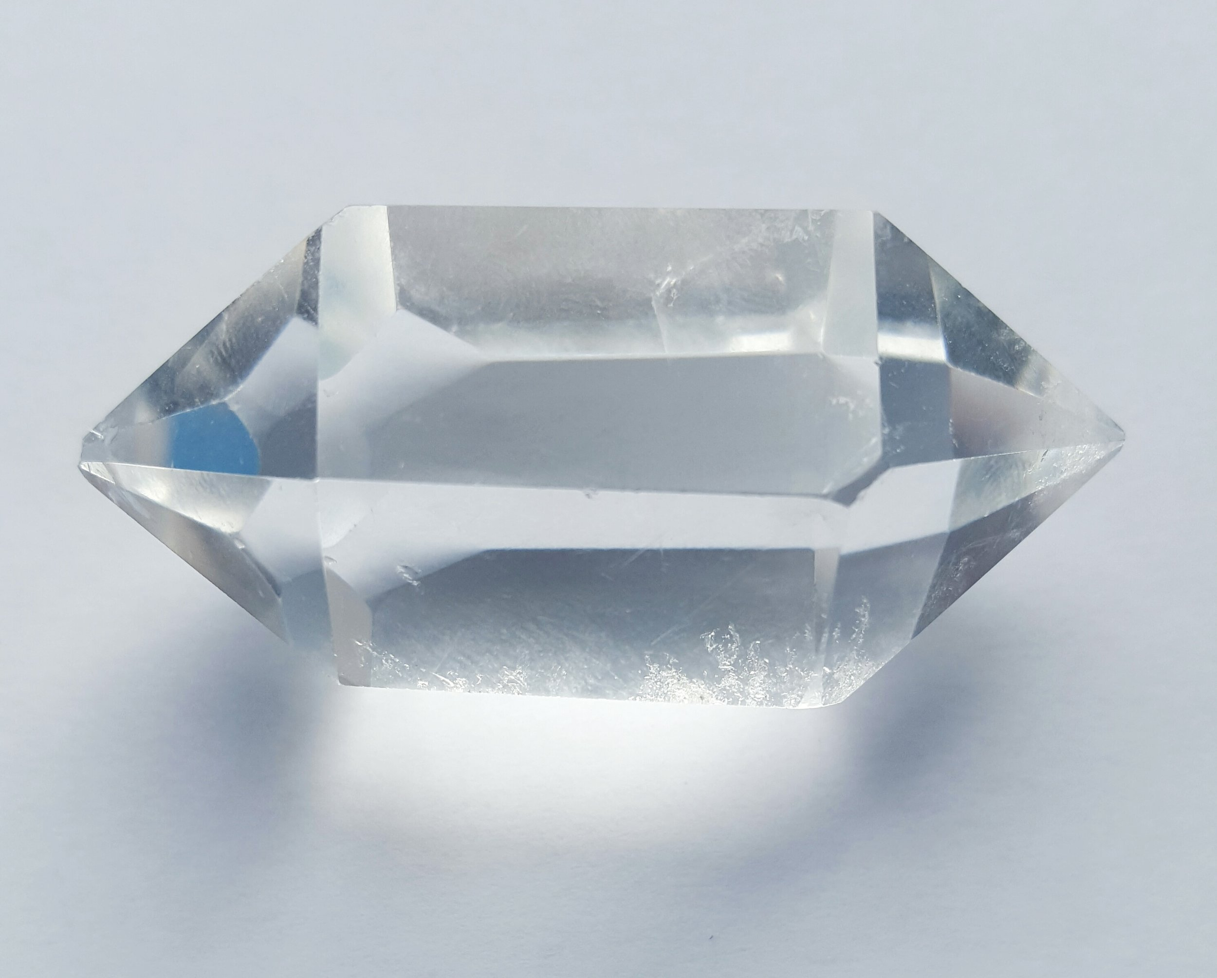 Copy of Quartz point double terminated crystal healing ascension