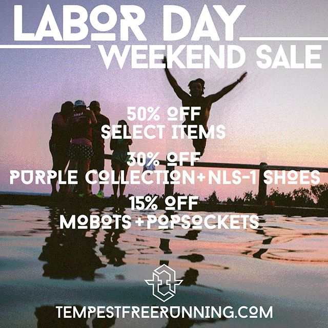 💥 #TMPST on the low online & in @tmpstacademy! 💥 #labordaysale #parkourclothing #freerunning #parkourshoes  #freerunfashion #tempest